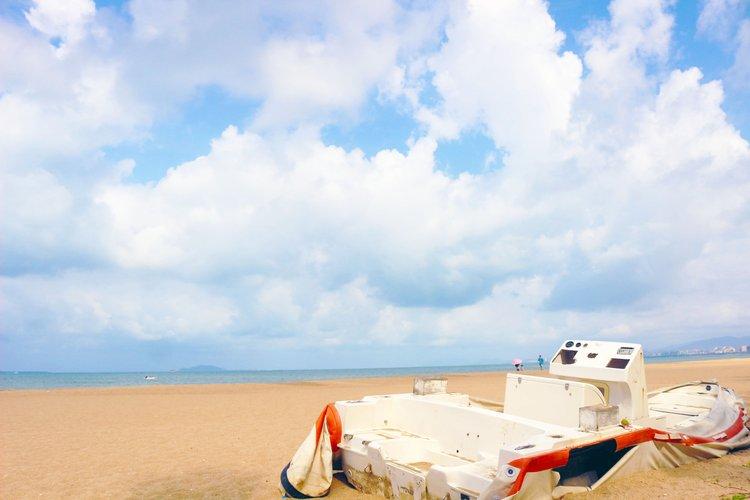 听说这个夏天,三亚的阳光和大海更配呢~