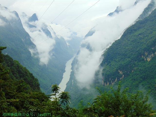 在龙滩大峡谷观龙看风起云涌--天峨游(3)