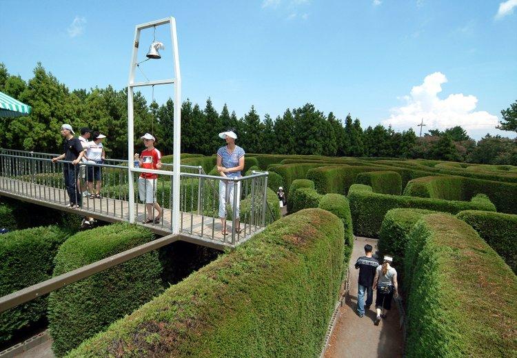 不一样的JEJU,体验世界最大的迷宫