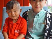 和童星朱佳煜一起玩转马来西亚图片