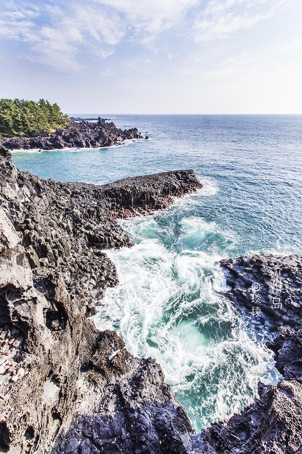 同程首页 攻略社区 这个深秋,爱上济州岛  柱状节理是指出现于玄武岩
