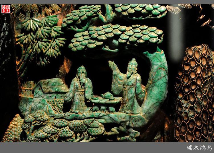 【原创摄影】印象广州(15)——精美绝伦的孔雀石雕