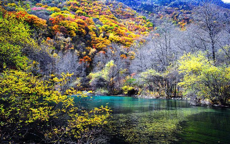 叠溪松坪沟风景区以图片