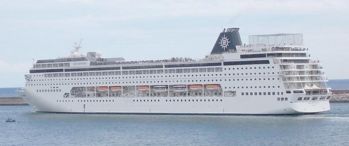 MSC(地中海)邮轮序曲号