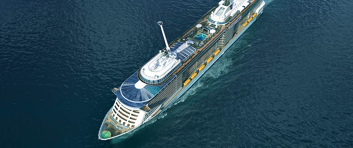 皇家加勒比邮轮海洋赞礼号