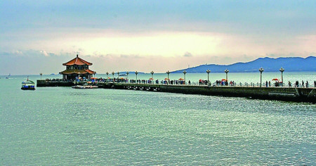 青岛栈桥最美的照片