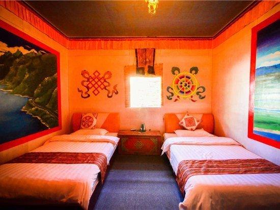 藏族装修房子图片