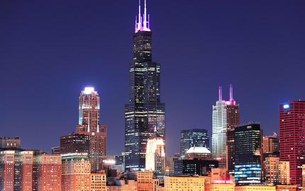 芝加哥威利斯大厦观景台