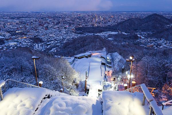 旭川动物园的雪景
