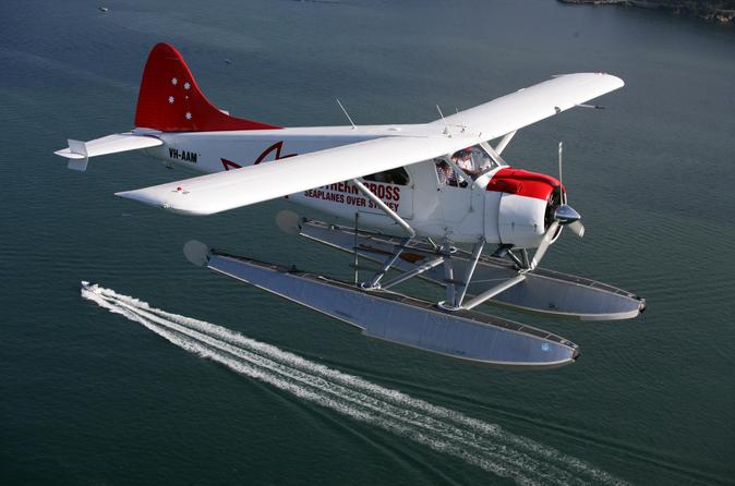 澳大利亚水上飞机1小时(心形大堡礁+白天堂沙滩观览)