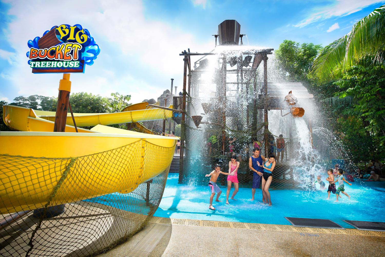 新加坡水上探险乐园_圣淘沙当地玩乐到圣淘沙玩乐