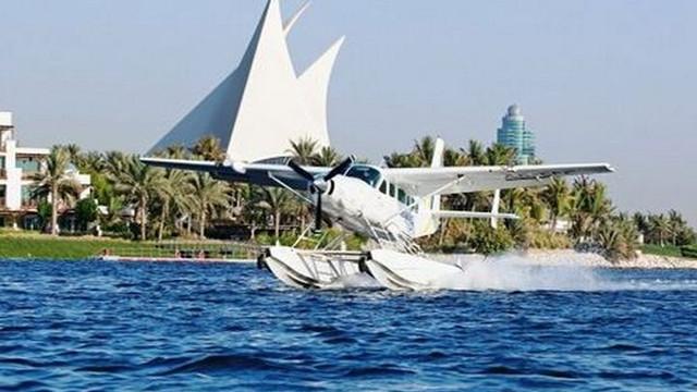 迪拜水上飞机25分钟巡游体验【水上起飞看迪拜全景】
