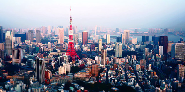 东京湾,远处的群山等等一览无遗,若是晴好天气还能远眺富士山,筑波山.