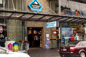 Outside Sports Queenstown户外用品店