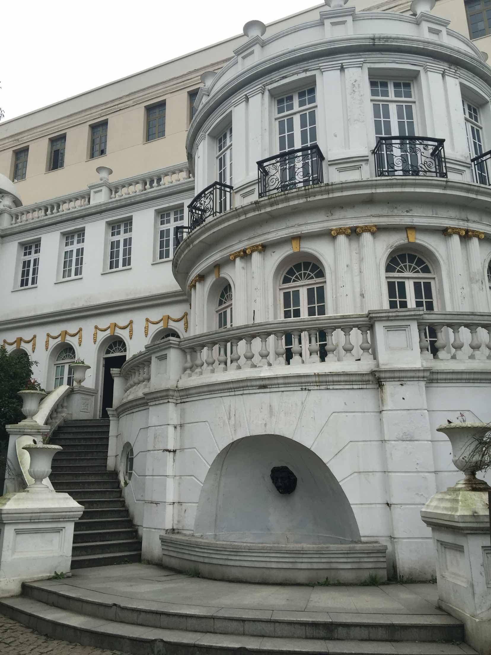 建筑很欧式复古