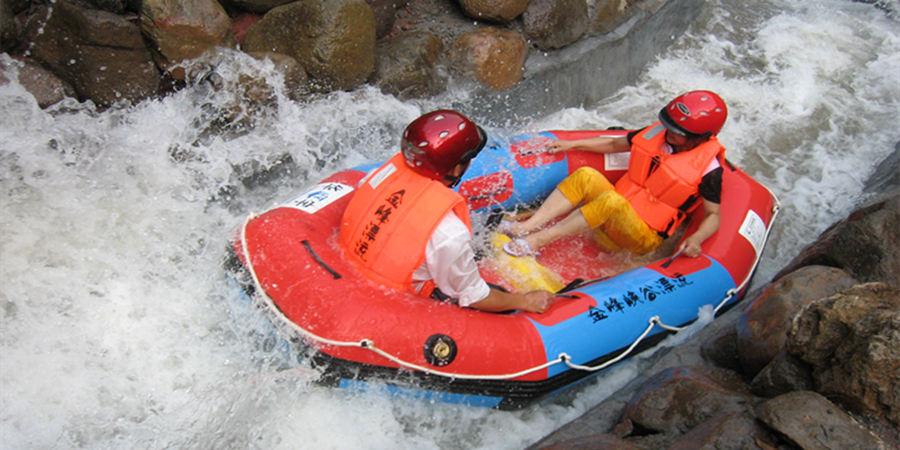 千岛湖金峰峡谷漂流