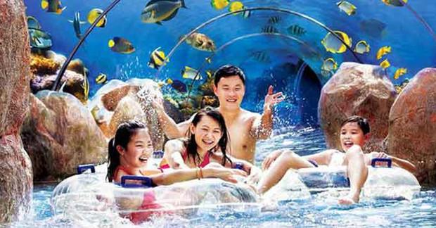 新加坡水上探险乐园
