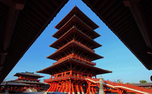 湖州旅游 陈武帝故宫  亮点 1,木结构建筑的南朝建筑风格值得一看 2
