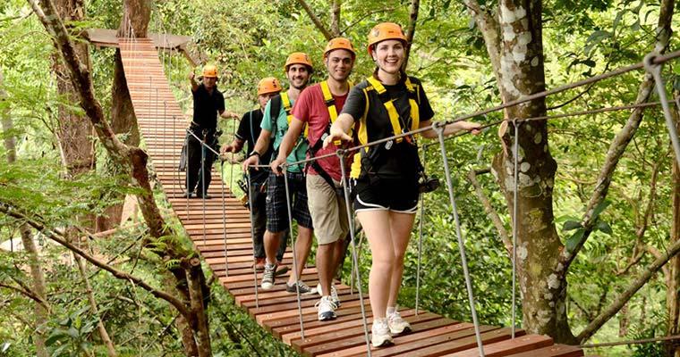 普吉岛xtrem丛林探险园户外冒险之旅
