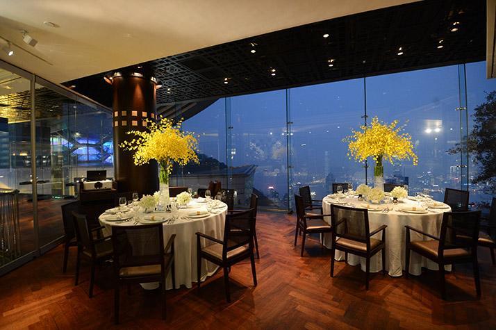 香港cafe deco山顶峰景餐厅