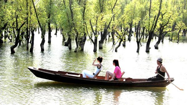 仙山湖风景区门票预订高清图片