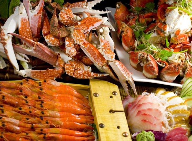 塞班岛悦泰酒店自助海鲜餐图片