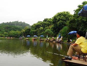游玩景点大夫山森林公园 大夫山森林公园位于广州市番禺区市桥以西三