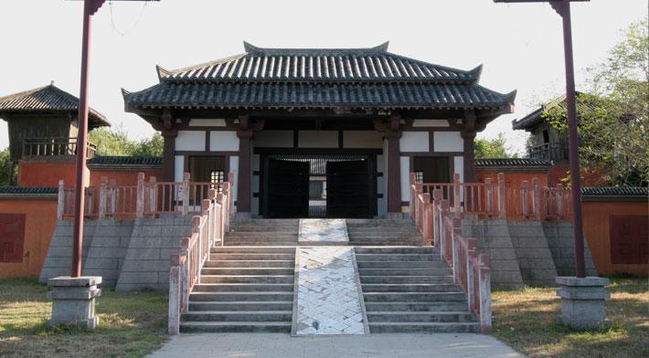 涿州古八景手绘