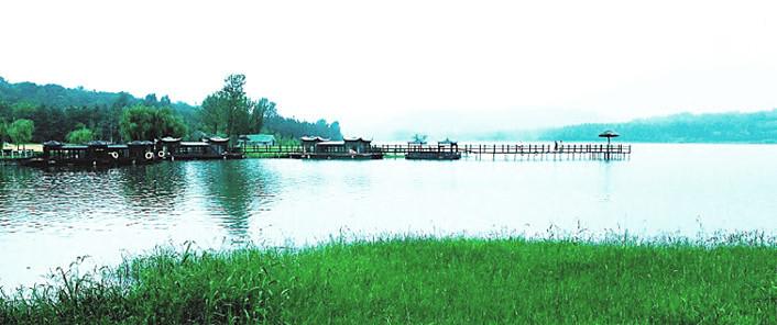 铁山寺国家森林公园远景图片