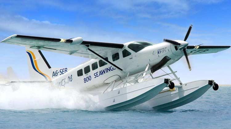 水上飞机为你提供一次乘坐世界著名的塞斯纳208水陆两用飞机,进行空中