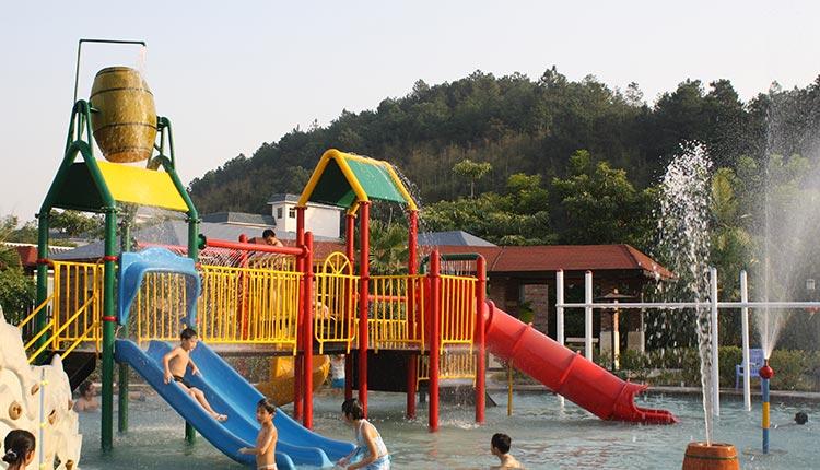 云浮景区门票 > 金水台温泉门票   太阳岛水上乐园位于新兴县水台镇