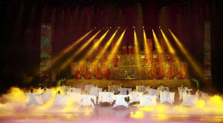 太极剧场《梦幻武当》是由北京奥运会开闭幕式副总
