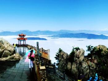 門票   游玩景點洛陽白云山 洛陽白云山位于河南省洛陽市嵩縣南部伏牛