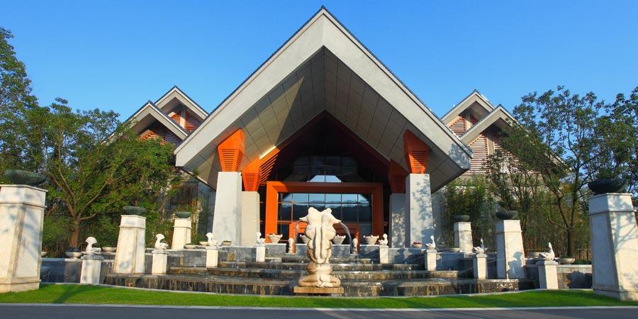 湖州月亮温泉是继湖州喜来登月亮度假酒店之后又一