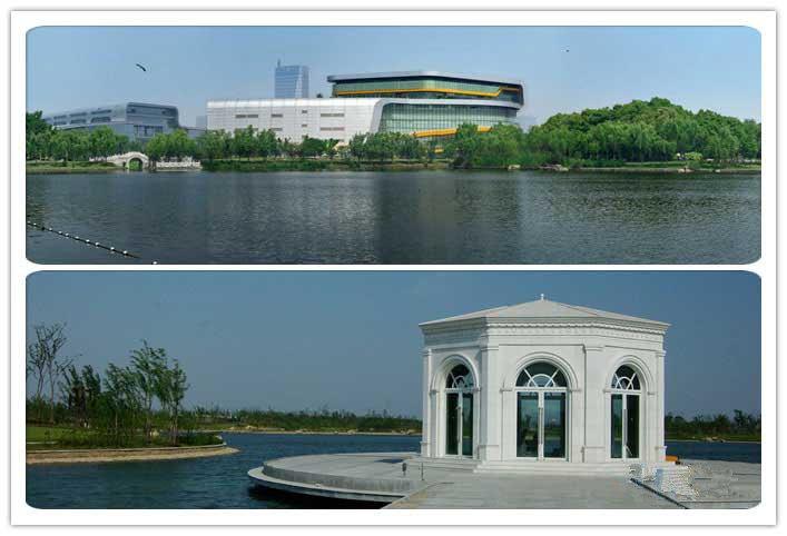 上海汽车博览公园是一个以汽车娱乐,汽车展览,汽车文化为主题的综合性