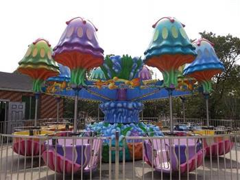 儿童乐园位于顾村公园