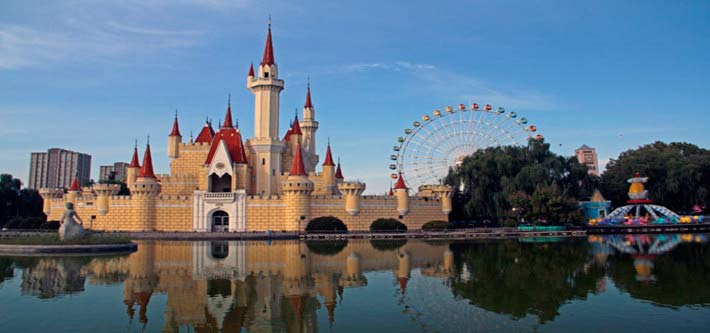 北京石景山游乐园图片