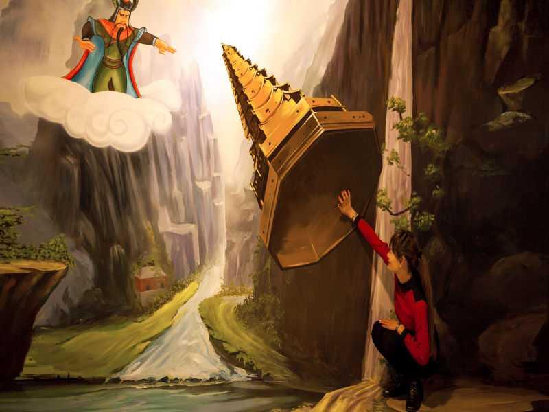 视界3d魔幻艺术体验馆