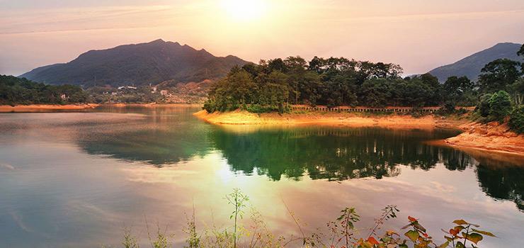 流溪河国家森林公园图片