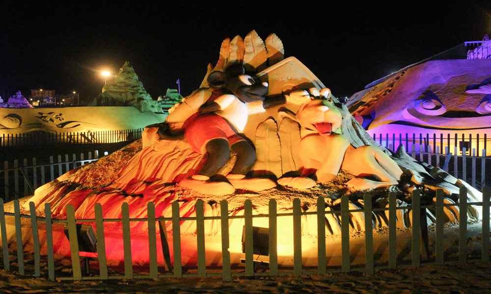 """""""海上丝绸之路""""主题国际沙雕展"""