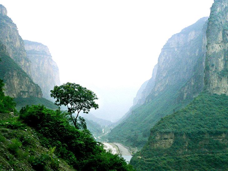 太行山大峡谷门票 太行山大峡谷门票多少钱 长治太行山大峡谷 太行山