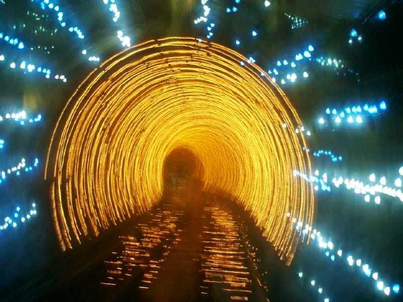 上海外滩观光隧道