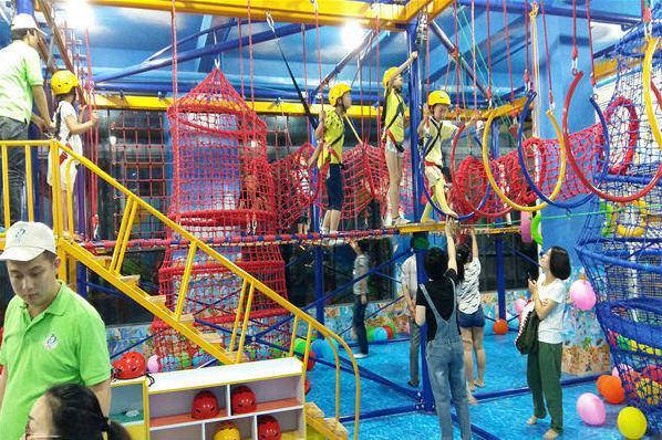 同程首页 吃喝玩乐 浙江杭州 > 星奇乐儿童游乐园   商家介绍星奇乐