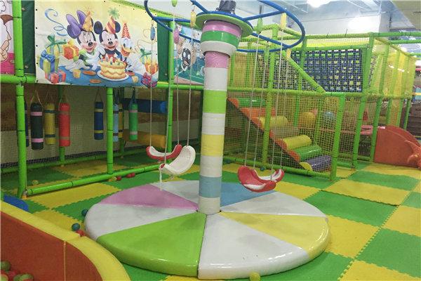彩虹桥儿童乐园是根据小朋友特性而设计的