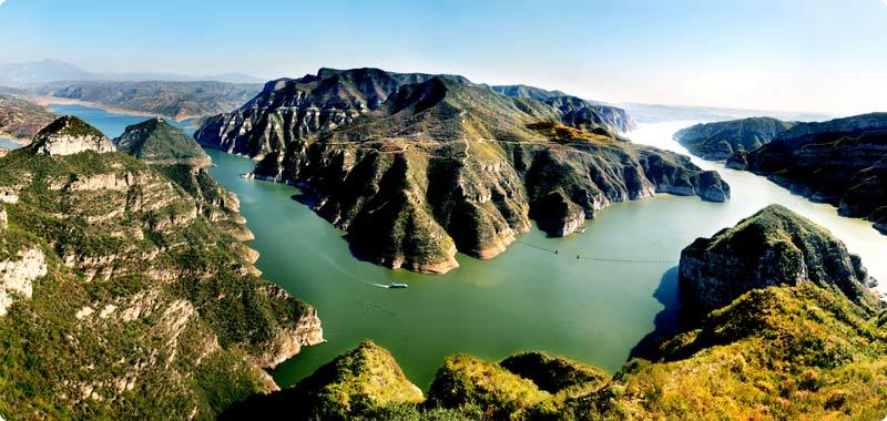 济源黄河三峡景区好么  随着生存程度的不时进步,吃大饭、看