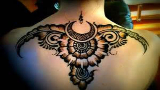海娜曼印度henna手绘