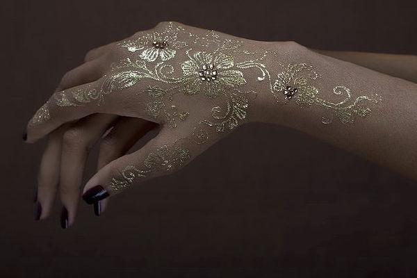 海娜曼印度henna手绘门票