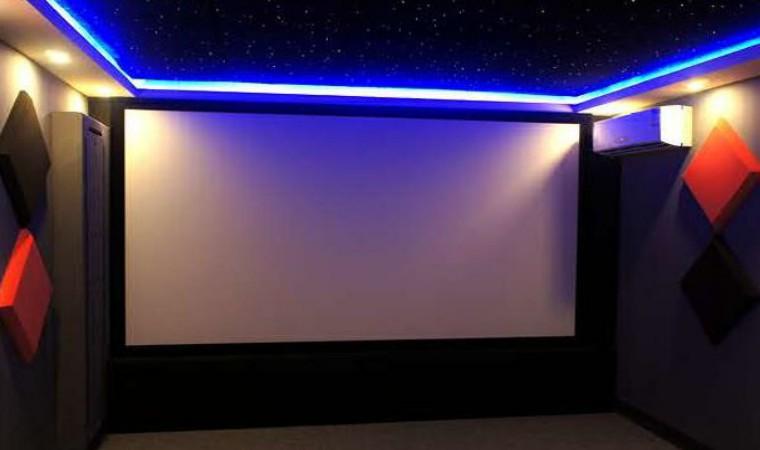 加上整体的灯光效果,装修设计等,将为观众带来媲美影院的观影效果.