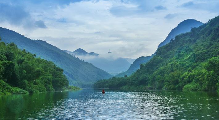 三峡风景画贴图