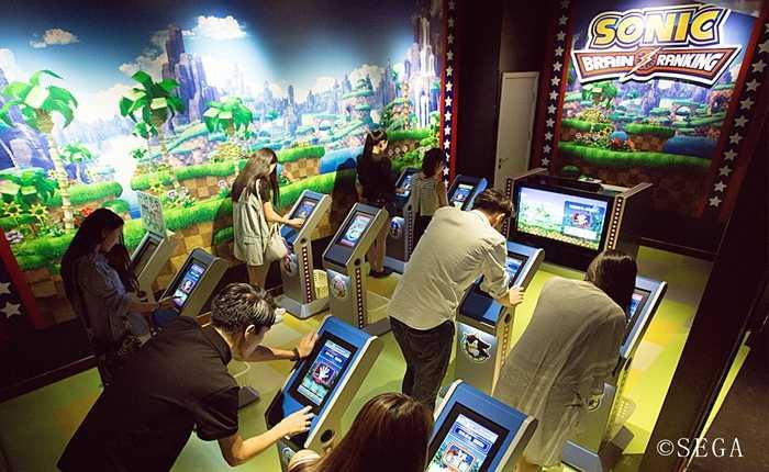 世嘉(sega)常年累积的电子娱乐开发技术与设施运营经验的室内主题乐园